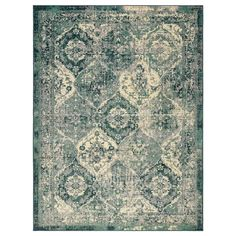 VONSBÄK rug, low pile - green - IKEA Germany IKEA – VONSBÄK, short pile carpet, green, the pattern looks faded and slightly washed out – so Motif Oriental, Style Oriental, Oriental Rugs, Oriental Pattern, Lohals, Ikea Rug, Medium Rugs, Professional Carpet Cleaning, Types Of Flooring