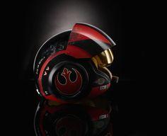 Hasbro Unveils The Black Series Poe Dameron Electronic Helmet