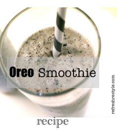 Oreo {Smoothie} - Refresh Restyle