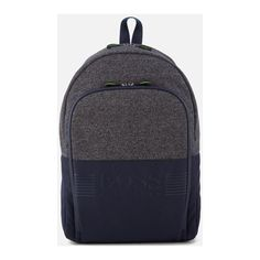 BOSS Green Men's Pixel Medium Backpack - Navy (13.995 RUB) ❤ liked on Polyvore featuring men's fashion, men's bags, men's backpacks and mens backpack