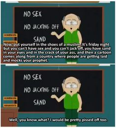 Southpark ms.garrison is sooo funny sometimes