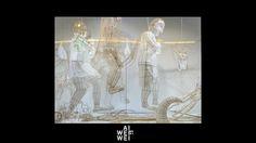 Des sculptures réalisées selon la technique traditionnelle chinoise du cerf-volant.  #LeBonMarche #AiWeiwei #ErXi #art #artcontemporain #exposition #mythologie
