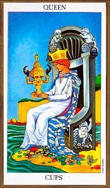 Queen of Cups - Tarot Card Meaning & Interpretation