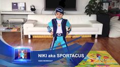 Niki aka Sportacus from Lazy Town. Sportacus workout. I  You, Sportacus!