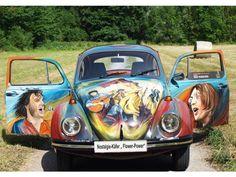 "VW Käfer als Kunstvehikel des ""Flower Power"" | Bild 2 - autozeitung.de"