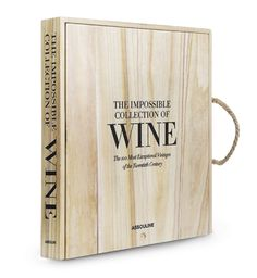 The Impossible Collection Of Wine by Assouline Publishing is a stunning new addition to the Assouline Ultimate Collection. Enrico Bernardo, the world's best sommelier, imagines the perfect cellar filled with the most exceptional wines of the twentieth cen Krug Champagne, Wine Tasting Notes, Wine Collection, Ultimate Collection, Assouline, Red Books, Bound Book, Book Gifts, Wine Gifts