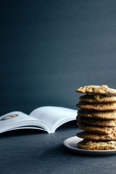 Dark Chocolate  Apricot Oatmeal Cookies Recipe (Gluten-Free)