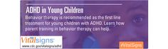 Resources on Attention-Deficit / Hyperactivity Disorder (ADHD) from the CDC