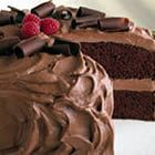 Chocolate Mousse Cake--topping looks yummy. I'd make my own chocolate cake :) Chocolate Cake Frosting, Chocolate Mousse Recipe, Chocolate Desserts, Chocolate Pudding, Chocolate Mouse Cake Filling, Chocolate Mousse Frosting, Chocolate Curls, White Chocolate, Cupcakes
