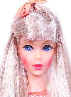 Amazing-Vintage-Silver-Blonde-Twist-N-Turn-Barbie-Doll-MINT
