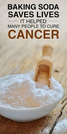 Baking Soda Treatment Saves Lives – Helped Hundreds Of People To Cure Cancer Natural Cancer Cures, Natural Home Remedies, Cancer Fighting Foods, Alternative Health, Cancer Treatment, Natural Treatments, Alternative Treatments, Natural Medicine, Health Remedies