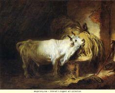 Jean-Honoré Fragonard. The White Bull.