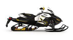 Sweet color scheme - Ski Doo MXZ - snowmobiles - sleds - winter - snow