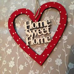 Home hanging heart now £3.50 2 available #sale