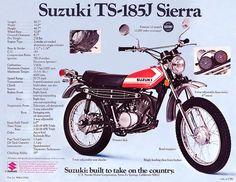 1972 suzuki ts185 - Google Search