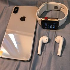 iPhone X & Apple Watch Series 3 LTE + Apple AirPod . Click the link to buy the same Apple watch band . Cute Phone Cases, Iphone Phone Cases, Iphone 8, Iphone Watch, Iphone Ringtone, Iphone Charger, Apple Macbook Pro, Apple Laptop, Phone Cases