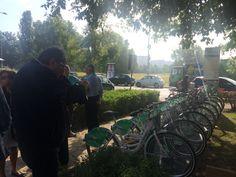 17 Setembre 2016 ore 10:30 taglio del Nastro al Via il servizio Bike Sharing di Bicincittà