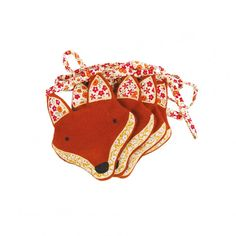 Decoration, Bunting, Foxes, How To Make, Holidays, Stylish, Red Fox, Wall Art, Decor