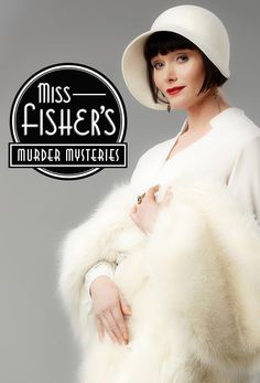 Miss Fisher's Murder Mysteries Art Deco never looked so good! Fantastic show. Essie Davis is sublime.