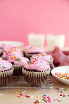 Baking Cupcakes, Mini Cupcakes, Healthy Chocolate, Chocolate Recipes, Paper Cupcake, Cupcake Cakes, Cup Cakes, Muffins, Joy The Baker