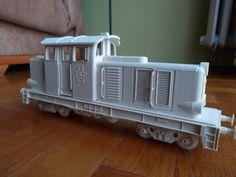 Locomotive by Grzesiek Kołacz #toysandgames
