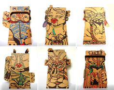 Reweti Arapere Online Portfolio 3d Paper Art, Maori Designs, Cardboard Sculpture, New Zealand Art, Nz Art, Maori Art, Kiwiana, Art Series, Drawing Skills