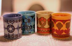 Grandmas-cosy-cups  (Staffordshire pottery mugs)