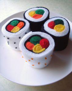 Felt food-sushi