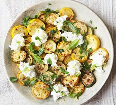 This quick, simple dish makes a lovely side dish for fish or a stand-alone lunch served with toasted sourdough