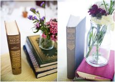 Vintage book wedding centrepieces Wedding Book, Hotel Wedding, Book Wedding Centerpieces, London Wedding, Wedding Photography, Table Decorations, Vintage, Vintage Comics, Wedding Photos