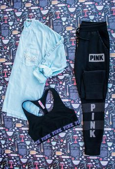 Wrap up a Cute & Cozy @VSPINK outfit under the tree this year! These are SO PERFECT for staying in & going out!! #christmaswishlist #PINKmas #AD