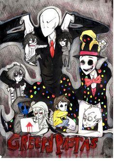 awesome creepypastas | Creepypastas poster by NikkTheHuman