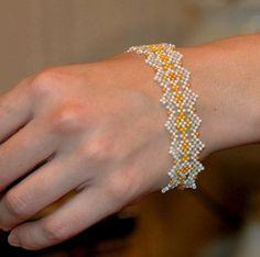 Free pattern for bracelet Teresa   Beads Magic