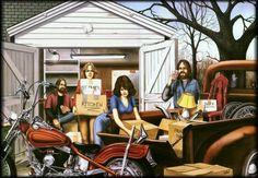 Dave Mann art Harley-Davidson of Long Branch www.hdlongbranch.com