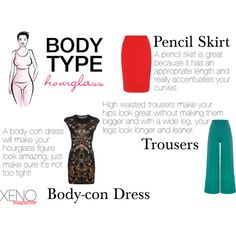 Dressing For Your Body Type: Hourglass - there are others at the link as well (petite, athletic, pear, apple, etc. Hourglass Figure Fashion, Hourglass Body Shape, Hourglass Clothes, Hourglass Outfits, Look Fashion, Fashion Beauty, Fashion Tips, Mommy Fashion, Fashion Today