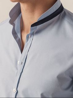Trendy Fashion Outfits For Men Casual Ideas Mens Shalwar Kameez, Kurta Men, Gents Shirts, Uniform Shirts, Formal Shirts For Men, Men Formal, Men Shirts Style, Shirt Style, Chemise Fashion