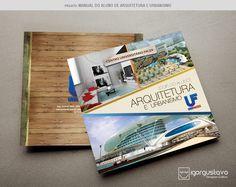 Livreto institucional para o curso de Arquitetura.