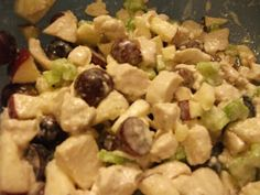 Our Seven Dwarfs: Apple Chicken Salad Recipe