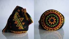 Worki mochilla i wayuu Mochila Crochet, Tapestry Crochet Patterns, Tapestry Bag, Boho Bags, Clutch, Craft Work, Crochet Projects, Purses And Bags, Ideas