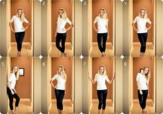 flattering poses for a female, good to know.