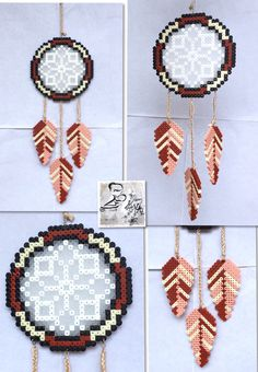 Dreamcatcher hama beads by Daria DaMatti