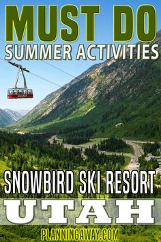 Snowbird is not just about snow. In the summertime, Snowboard provides a smorgasbord of fun activities for the entire family. Snowbird is a great place to find both fun and a break from the heat.  Activities include a rope course, alpine slides, a climbing wall, tubing, alpine coaster, gondola, obstacle course, free fall, and trampolines. | Planning Away @planningaway #snowbirdskiresort #snowbirdutah #familyvacationutah #utahvacation #vacationgetaway #summervacation #summerfun #planningaway Utah Vacation, Vacation Spots, Vacation Ideas, World Travel Guide, Top Travel Destinations, Family Resorts, Hotels And Resorts, Snowbird Ski, Alpine Coaster