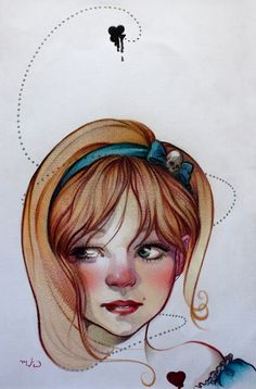 wanna have a hair cut print alice s illustration pinterest