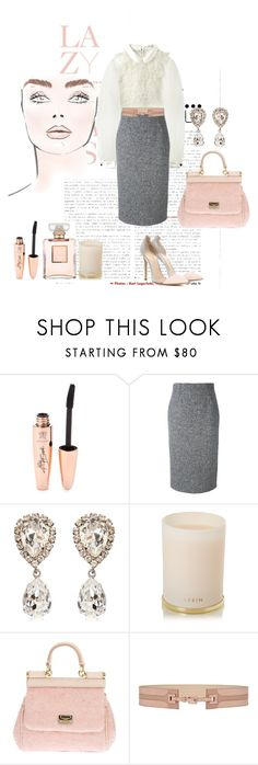 """""""re- Published 23 Jan 2017"""" by muna-aweidah on Polyvore featuring Lazy Days, Chanel, Marc Jacobs, RED Valentino, Dolce&Gabbana, AERIN, Reiss and Gianvito Rossi"""