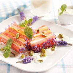 Fleurige meloenijsterrine