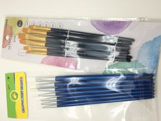 supermarket artist brushes-Nylon artist brushes-students painting brushes