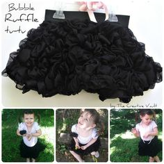 Bubble Ruffle Tu-Tu Tutorial by The Creative Vault