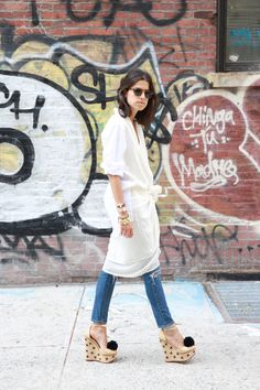 The Multifarious Ways to Wear a Sarong | Man Repeller