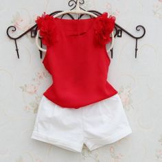 Kids Girls Shirts for Children Sleeveless Tops Baby Chiffon Shirts for Girls Summer Vest Solid Clothing Girls Vest Tops, Girls Blouse, Shirts For Girls, Moda 3d, Sleeveless Outfit, Sleeveless Tops, Baby Dress Design, Kids Tops, Girls Formal Dresses