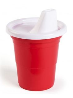 """""""Party Time"""" Sippy Cup (Red)  O red sippy cup I'll fill you up!"""